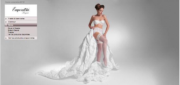 ropa interior para novias emperatriz