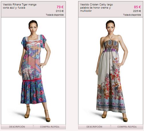 vestidos custo barcelona