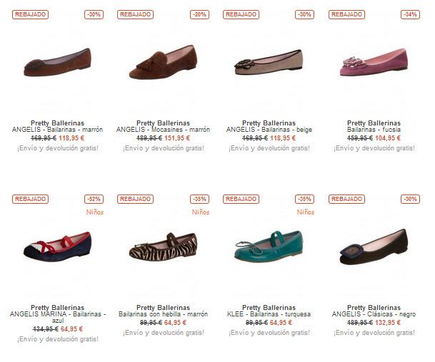 código promocional cbe4f 5b6e6 Rebajas Pretty Ballerinas: el calzado más cómodo a tu alcance