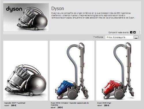 rebajas Dyson