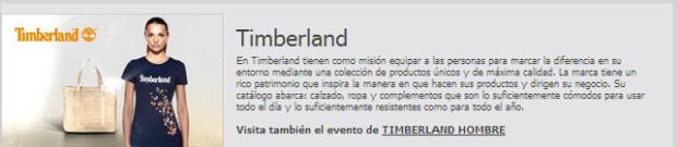 Rebajas Timberland últimos precios en Buyvip
