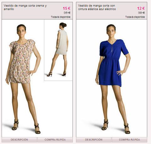 vestidos vero moda