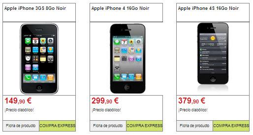 iphone 3 y iphone 4