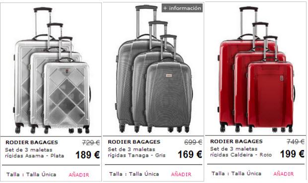 maletas rodier Rebajas Rodier encuentra tus maletas con los mejores precios