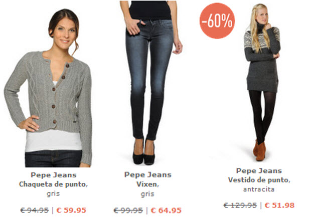 ropa pepe jeans
