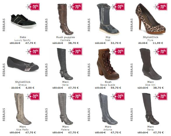 botas de piel rebajadas