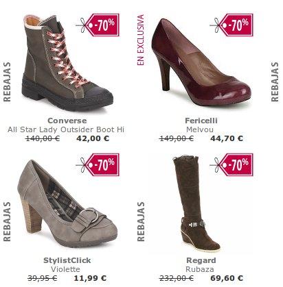 ofertas en calzado