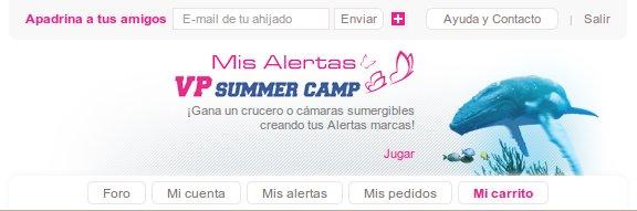 VP Summer Camp 2013, una campaña de rebajas única en su especie