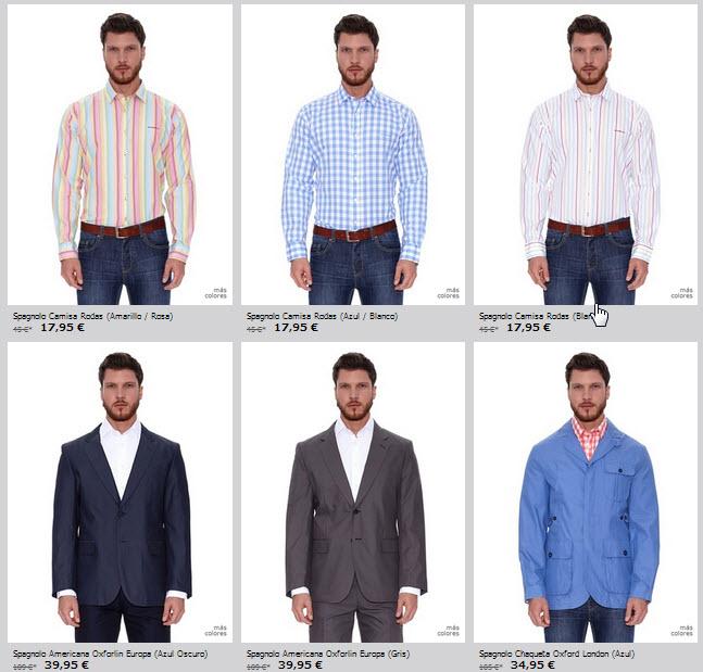 camisas y americanas Spagnolo