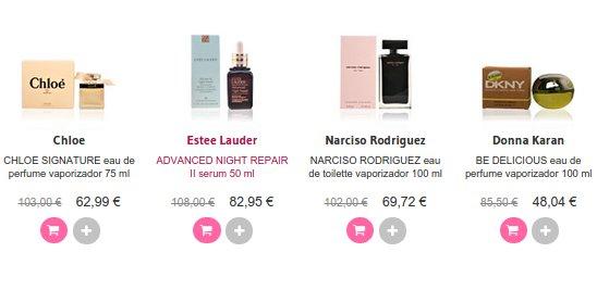 Rebajas Perfumes Club de mujer 2015