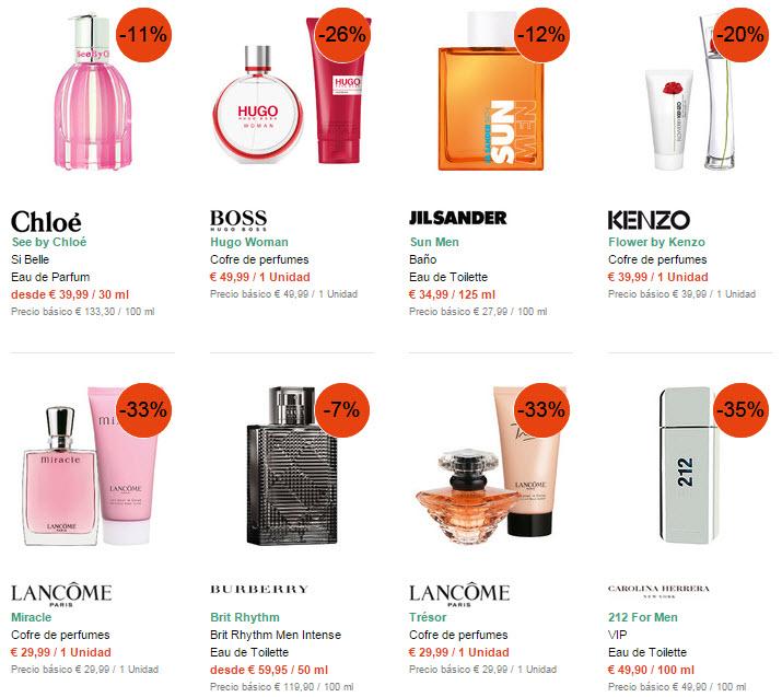 rebajas perfumes