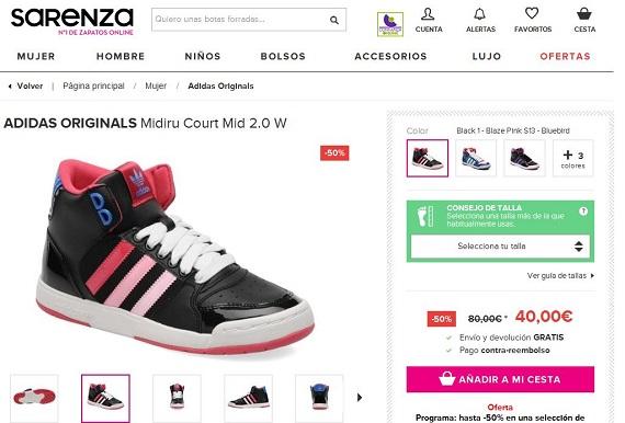 Sarenza Adidas