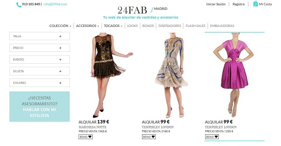 a57294f83 24Fab  opiniones sobre el alquiler de vestidos de fiesta