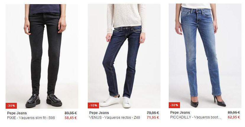 rebajas zalando pepe jeans 2016