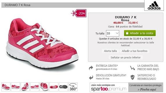 rebajas spartoo Adidas y Nike