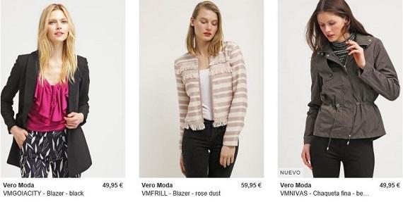 vero moda abrigos y chaquetas