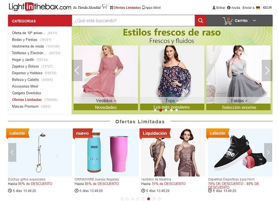 ropa china online