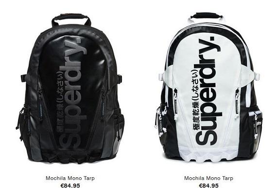 superdry mochilas